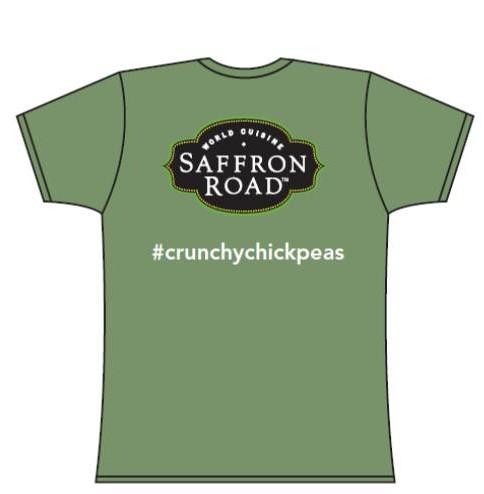 Crunchy Chickpeas Saffron Road T-Shirts