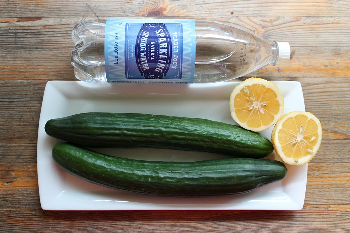 Cucumber Spritzer Ingrediants