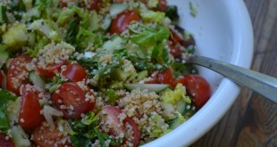 Easy Bulgur & Vegetable Salad | My Halal Kitchen