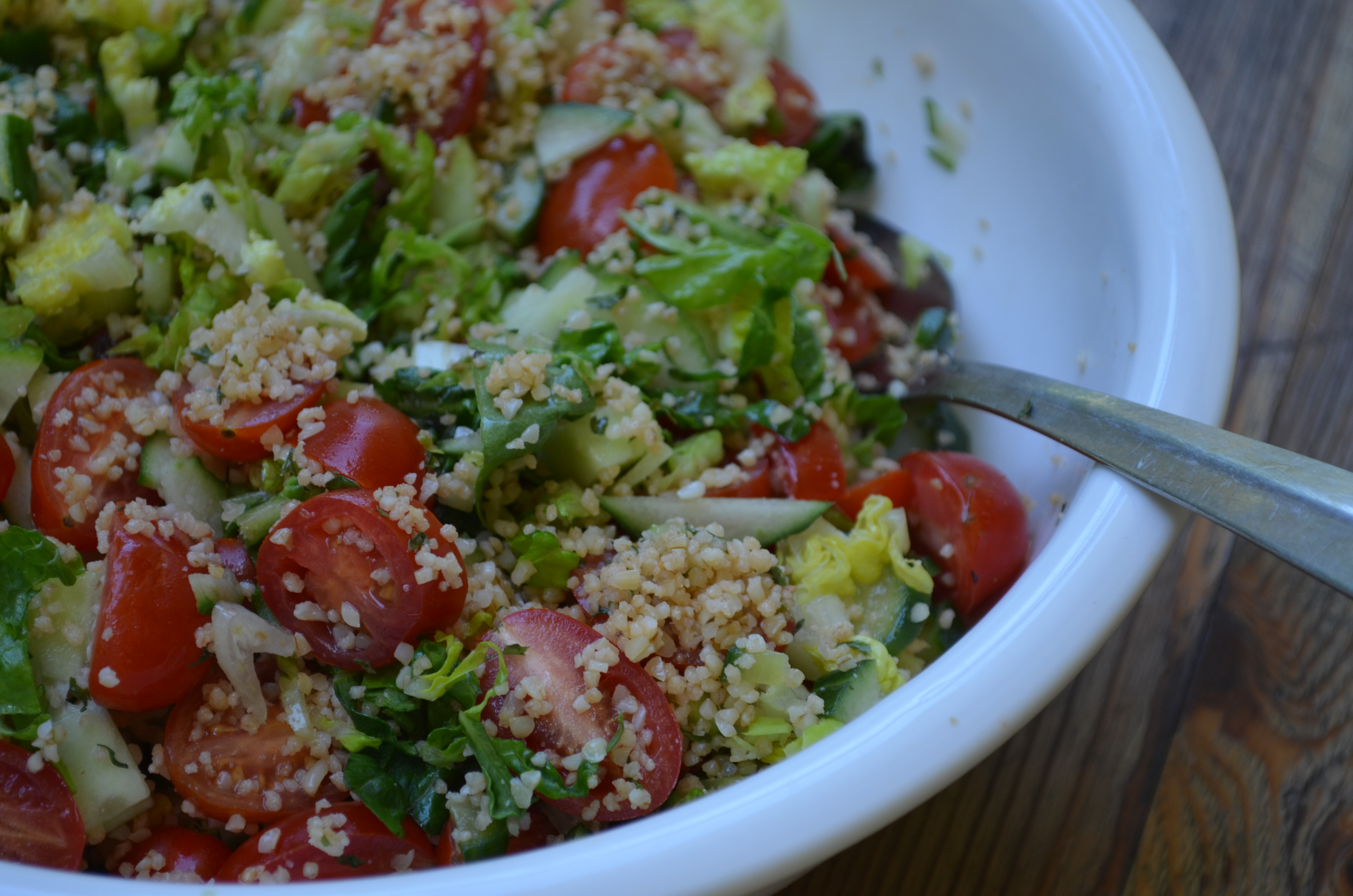 Bulgur and vegetable salad my halal kitchen by yvonne maffei forumfinder Image collections
