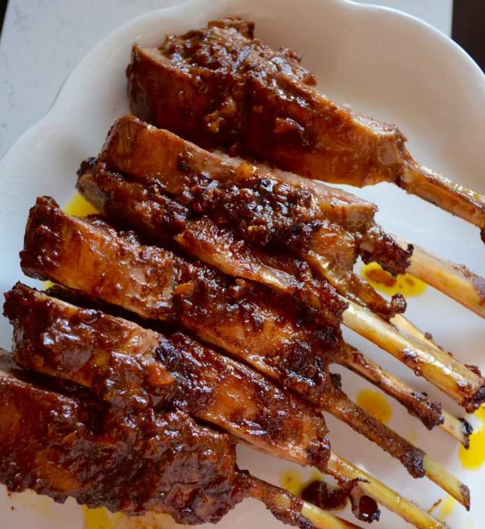 My Halal Kitchen: Rack Of Lamb With Dates & Moroccan Spices