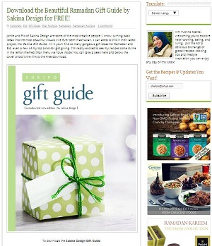 Download the Beautiful Ramadan Gift Guide by Sakina Design for FREE MHK 063014