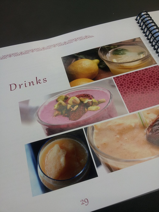 Drinks Section- Summer Ramadan Cooking by Yvonne Maffei