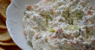 Final Smoked Salmon Dip