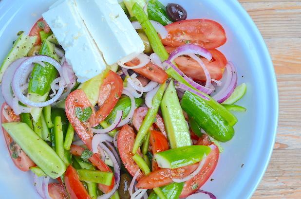 Finished Greek Salad