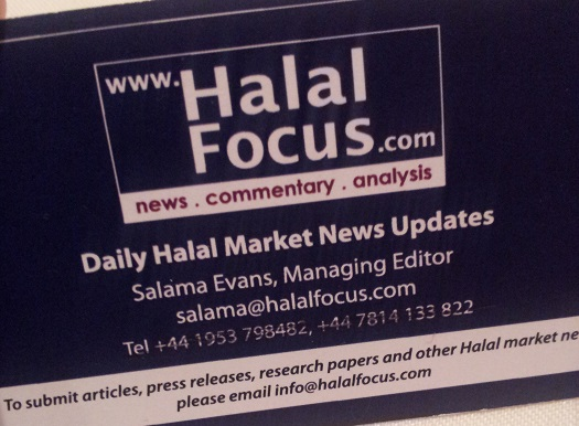 Halal Focus Business Card