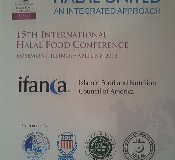 Halal United | IFANCA Halal Food Conference 2013