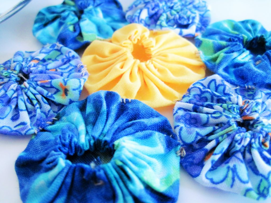 Vintage Floral Coasters Close Up