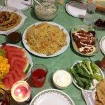 Iftar table