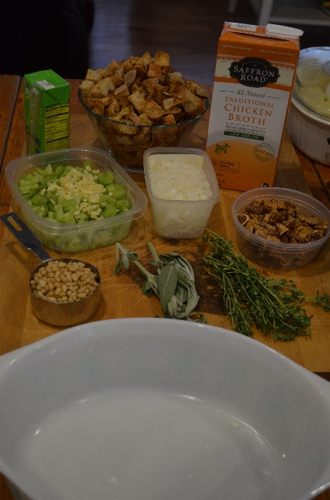 Ingredients for Stuffing
