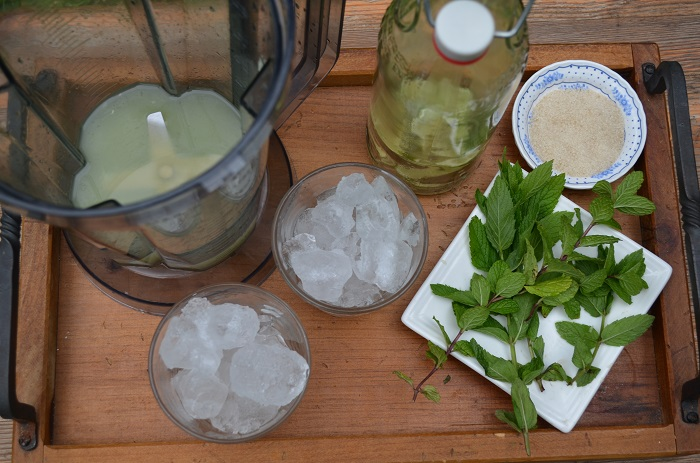 Limeade with Lemon Basil 366