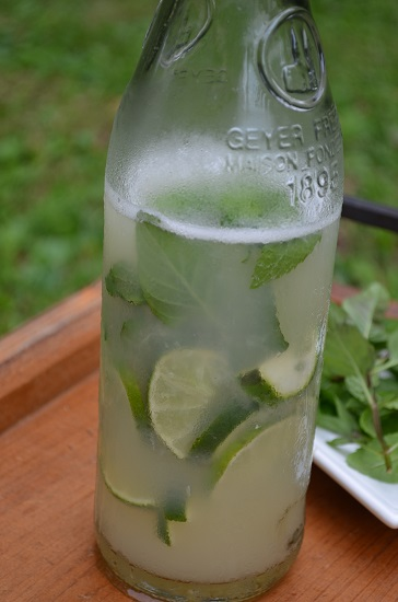 Limeade with Lemon Basil 447