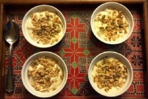 No-Bake Maple Cheesecake Cups | Sue Labadi for My Halal Kitchen