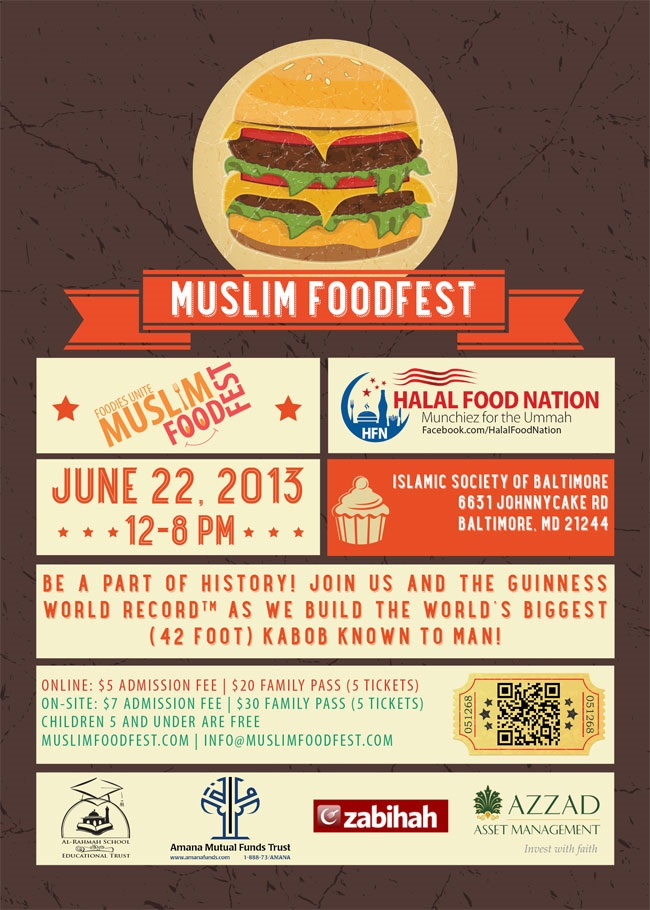 Muslim Ethnic Food Fest | My Halal Kitchen
