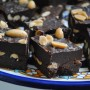 No Bake Fudge with Sea Salt and Peanuts in Summer Ramadan Cooking by Yvonne Maffei