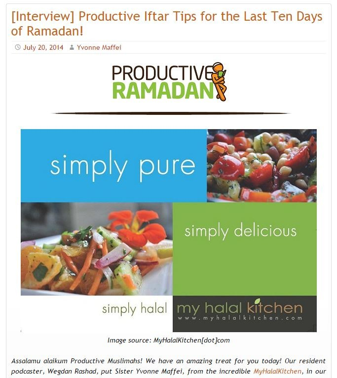 Productive Muslim 062014