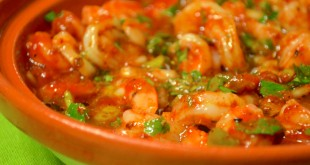 Shrimp in Tagine Bowl