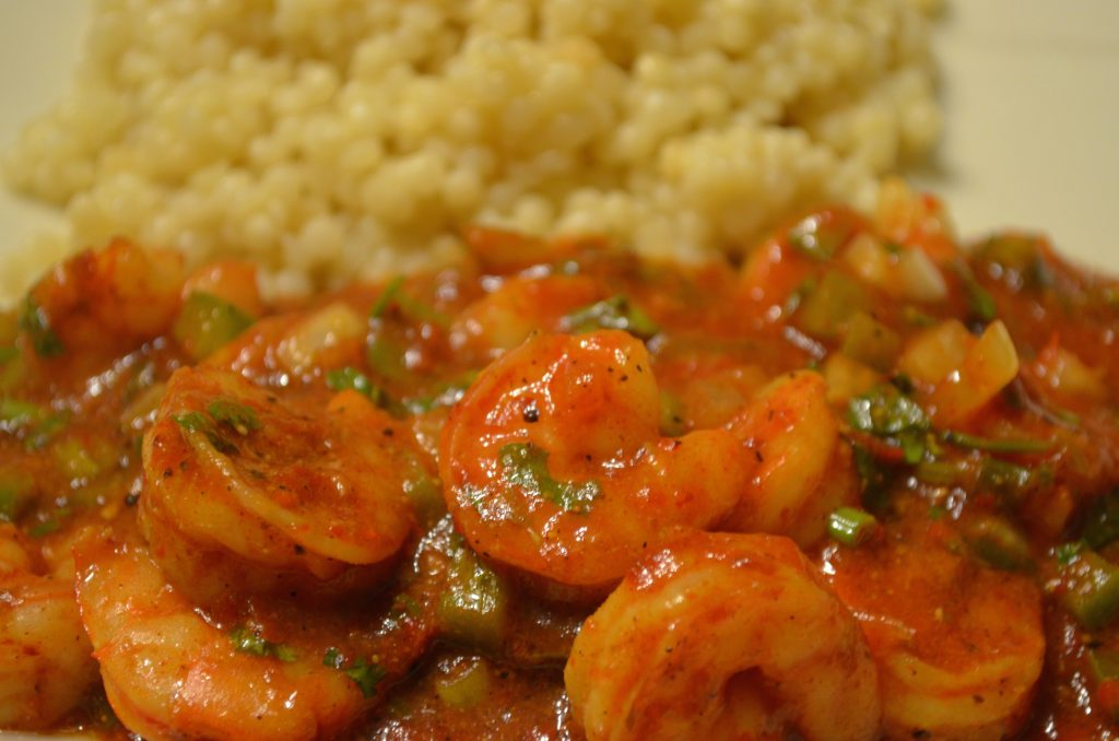 Shrimp on Couscous