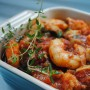 Shrimp with Garlic and Tomato Sauce in Summer Ramadan Cooking by Yvonne Maffei
