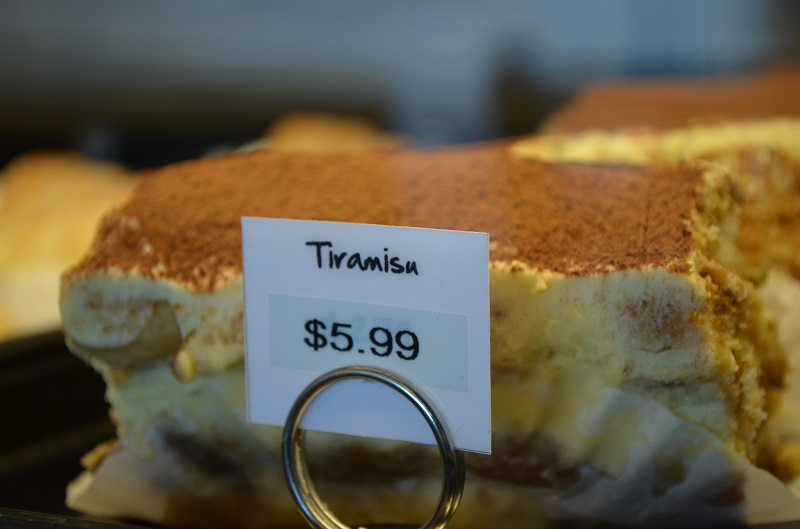 Tiramisu at Gur Sweets