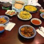 Tunisian Iftar- Couscous, tabouna
