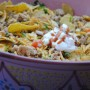Turkey Taco Salad in Summer Ramadan Cooking by Yvonne Maffei
