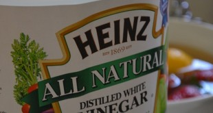 White Vinegar: An All Natural Produce Cleaner