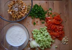 Yogurt Salad Ingredients