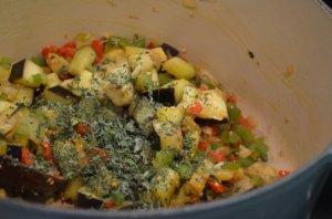 add dried herbs