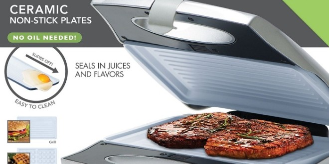 Crescent Foods Big Boss Counter top Grill Giveaway | My Halal Kitchen