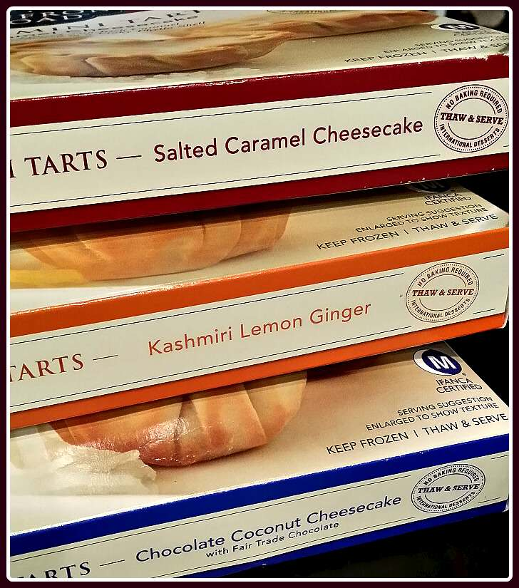 boxes of tarts