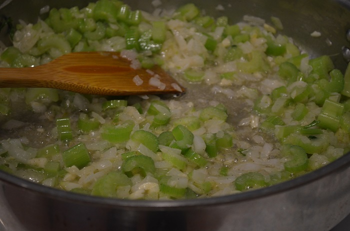 celery and onion
