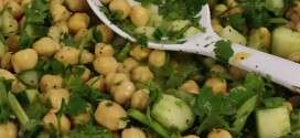 Chickpea and Cilantro Salad