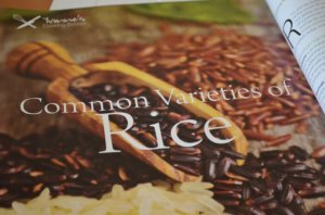 common varieties of rice- issue 54