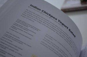 cookbook page