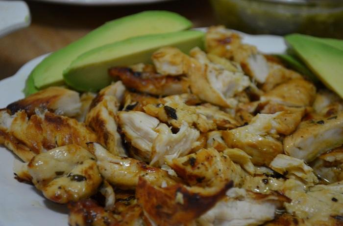 cut up chicken tenders