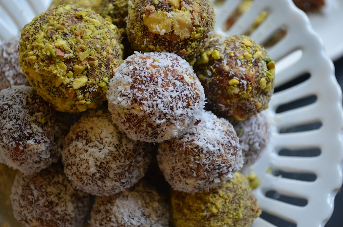 Date nut balls rolled in coconut or pistachio my halal kitchen by date nut balls rolled in coconut or pistachio my halal kitchen by yvonne maffei forumfinder Image collections