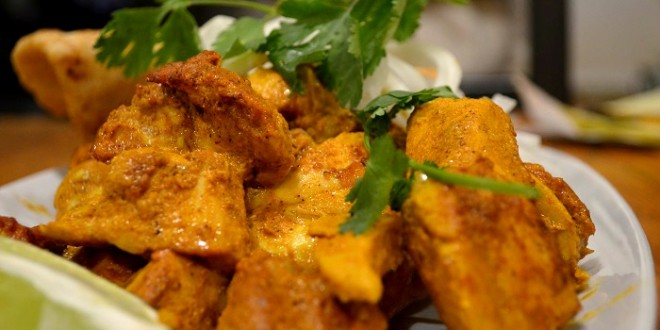 Tandoori Spiced Baked Chicken in Yogurt Masala