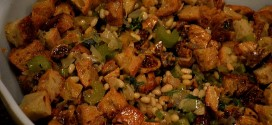 Fig, Pine Nut, Garlic & Herb Stuffing