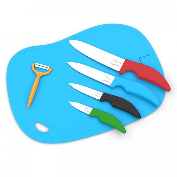 four-knifes-skin-romever-cutting-board