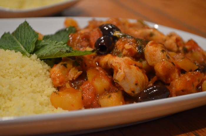 full plate couscous
