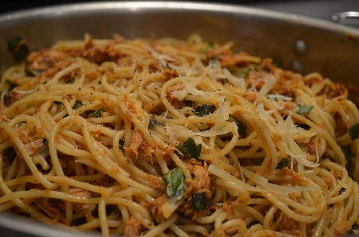 Basil olive oil pasta recipe