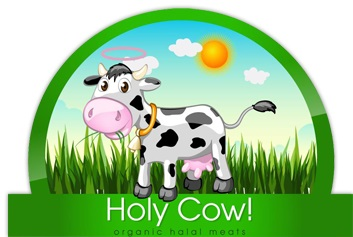 holy cow organic logo