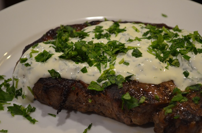 horizontal steak