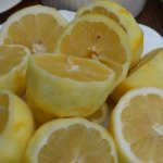 Lemons as substitute for dry white wine