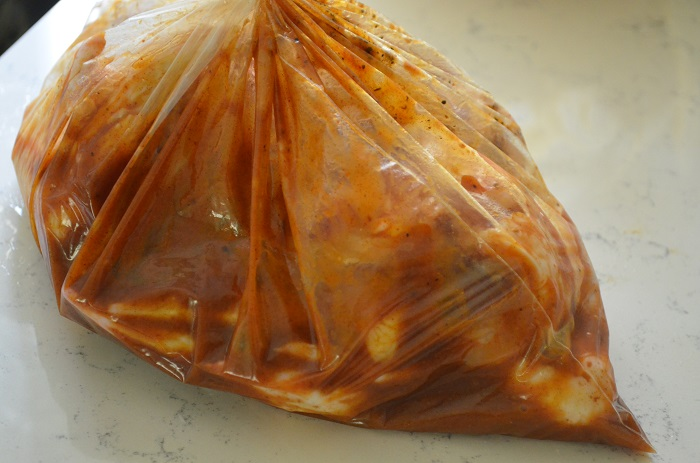 marinate in bag