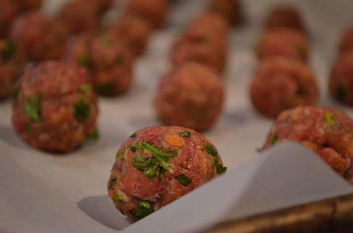 meatball up close