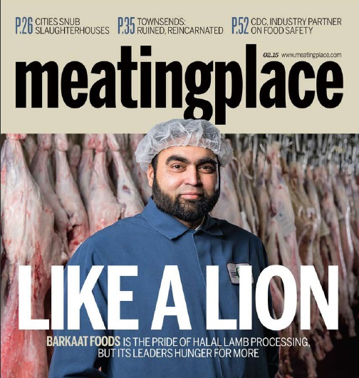 Meatingplace Magazine. Ahmed I. Khan of Barkaat Foods. Photo courtesy of Barkaat Foods.