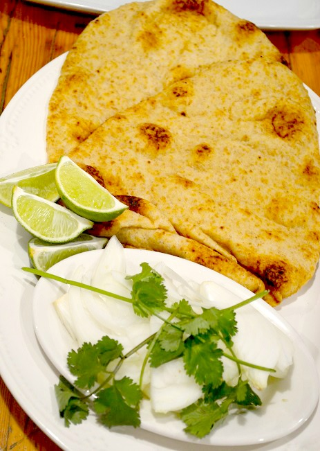 naan bread toasted