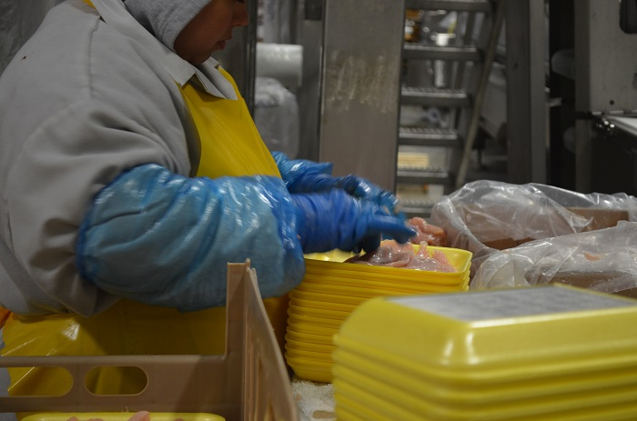 packaging the chicken A Fascinating Glimpse at the Crescent Foods Plant Tour
